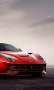 Download free mobile wallpaper 33730: Auto,Ferrari,Transport for phone or tab. Download images, backgrounds and wallpapers for mobile phone for free.