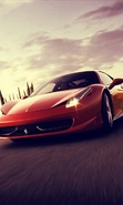 Download free mobile wallpaper 41059: Auto,Ferrari,Transport for phone or tab. Download images, backgrounds and wallpapers for mobile phone for free.