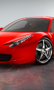 Download free mobile wallpaper 49652: Auto,Ferrari,Transport for phone or tab. Download images, backgrounds and wallpapers for mobile phone for free.
