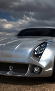 Download free mobile wallpaper 46564: Auto,Maserati,Transport for phone or tab. Download images, backgrounds and wallpapers for mobile phone for free.