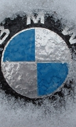 Download free mobile wallpaper 41716: BMW,Objects,Snow for phone or tab. Download images, backgrounds and wallpapers for mobile phone for free.