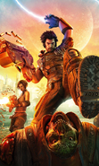 Download free mobile wallpaper 36702: Bulletstorm,Games for phone or tab. Download images, backgrounds and wallpapers for mobile phone for free.