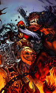 Download free mobile wallpaper 19455: Darksiders: Wrath of War, Demons, Fantasy, Games for phone or tab. Download images, backgrounds and wallpapers for mobile phone for free.