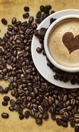 Download free mobile wallpaper 18688: Valentine's day, Food, Coffee, Love, Drinks, Hearts for phone or tab. Download images, backgrounds and wallpapers for mobile phone for free.