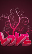 Download free mobile wallpaper 22669: Valentine's day, Background, Love, Holidays for phone or tab. Download images, backgrounds and wallpapers for mobile phone for free.