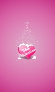 Download free mobile wallpaper 32526: Valentine's day,Background,Holidays for phone or tab. Download images, backgrounds and wallpapers for mobile phone for free.