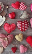 Download free mobile wallpaper 21418: Valentine's day, Love, Objects, Holidays, Hearts for phone or tab. Download images, backgrounds and wallpapers for mobile phone for free.