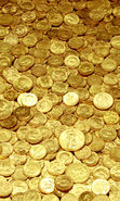 Download free mobile wallpaper 16194: Money, Background, Gold for phone or tab. Download images, backgrounds and wallpapers for mobile phone for free.