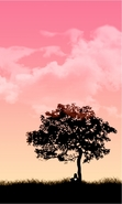 Download free mobile wallpaper 40722: Trees,Background,Pictures for phone or tab. Download images, backgrounds and wallpapers for mobile phone for free.