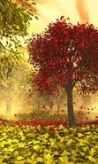 Download free mobile wallpaper 4334: Landscape, Trees, Autumn, Leaves for phone or tab. Download images, backgrounds and wallpapers for mobile phone for free.