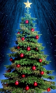 Download free mobile wallpaper 44628: Trees,New Year,Objects,Holidays,Plants for phone or tab. Download images, backgrounds and wallpapers for mobile phone for free.