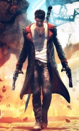 Download free mobile wallpaper 37313: Devil May Cry,Games for phone or tab. Download images, backgrounds and wallpapers for mobile phone for free.