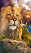 Download free mobile wallpaper 14327: Girls, Fantasy, Lions, People for phone or tab. Download images, backgrounds and wallpapers for mobile phone for free.