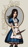 Download free mobile wallpaper 18972: Girls, Games, Alice: Madness Returns for phone or tab. Download images, backgrounds and wallpapers for mobile phone for free.