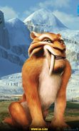 Download free mobile wallpaper 1812: Cartoon, Ice Age, Diego for phone or tab. Download images, backgrounds and wallpapers for mobile phone for free.