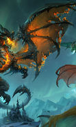 Download free mobile wallpaper 15107: Dragons, Fantasy for phone or tab. Download images, backgrounds and wallpapers for mobile phone for free.