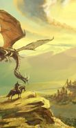Download free mobile wallpaper 25418: Dragons, Fantasy for phone or tab. Download images, backgrounds and wallpapers for mobile phone for free.