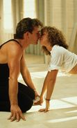 Download free mobile wallpaper 9323: Cinema, Humans, Dirty Dancing, Patrick Swayze, Jennifer Grey for phone or tab. Download images, backgrounds and wallpapers for mobile phone for free.