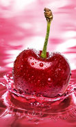 Download free mobile wallpaper 11651: Water, Sweet cherry, Food, Cherry, Drops, Berries for phone or tab. Download images, backgrounds and wallpapers for mobile phone for free.