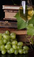 Download free mobile wallpaper 26470: Food, Background, Books, Vine, Grapes for phone or tab. Download images, backgrounds and wallpapers for mobile phone for free.