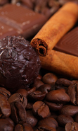 Download free mobile wallpaper 41374: Food,Background,Coffee,Cinnamon,Chocolate for phone or tab. Download images, backgrounds and wallpapers for mobile phone for free.