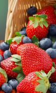 Download free mobile wallpaper 36629: Food,Fruits,Strawberry for phone or tab. Download images, backgrounds and wallpapers for mobile phone for free.