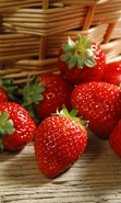 Download free mobile wallpaper 38549: Food,Fruits,Strawberry for phone or tab. Download images, backgrounds and wallpapers for mobile phone for free.