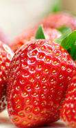 Download free mobile wallpaper 38851: Food,Fruits,Strawberry for phone or tab. Download images, backgrounds and wallpapers for mobile phone for free.