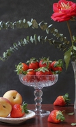 Download free mobile wallpaper 32236: Food,Fruits,Strawberry,Still life for phone or tab. Download images, backgrounds and wallpapers for mobile phone for free.