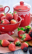 Download free mobile wallpaper 46173: Food,Berries for phone or tab. Download images, backgrounds and wallpapers for mobile phone for free.