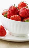 Download free mobile wallpaper 11621: Food, Strawberry, Berries for phone or tab. Download images, backgrounds and wallpapers for mobile phone for free.