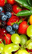 Download free mobile wallpaper 44857: Food,Berries,Plants for phone or tab. Download images, backgrounds and wallpapers for mobile phone for free.