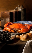 Download free mobile wallpaper 36354: Food,Crabs for phone or tab. Download images, backgrounds and wallpapers for mobile phone for free.