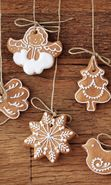 Download free mobile wallpaper 28679: Food, Cookies, Holidays, Christmas, Xmas for phone or tab. Download images, backgrounds and wallpapers for mobile phone for free.