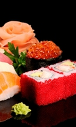Download free mobile wallpaper 33833: Food,Sushi for phone or tab. Download images, backgrounds and wallpapers for mobile phone for free.