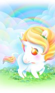 Download free mobile wallpaper 30212: Unicorns,Fantasy for phone or tab. Download images, backgrounds and wallpapers for mobile phone for free.