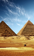 Download free mobile wallpaper 50286: Egypt,Objects,Landscape,Pyramids for phone or tab. Download images, backgrounds and wallpapers for mobile phone for free.