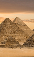 Download free mobile wallpaper 33042: Egypt,Landscape,Pyramids for phone or tab. Download images, backgrounds and wallpapers for mobile phone for free.