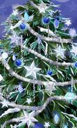 Download free mobile wallpaper 2209: Holidays, New Year, Fir-trees, Christmas, Xmas, Drawings for phone or tab. Download images, backgrounds and wallpapers for mobile phone for free.