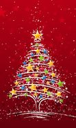 Download free mobile wallpaper 2247: Holidays, New Year, Fir-trees, Christmas, Xmas, Drawings for phone or tab. Download images, backgrounds and wallpapers for mobile phone for free.