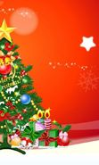 Download free mobile wallpaper 5401: Holidays, New Year, Fir-trees, Christmas, Xmas, Drawings for phone or tab. Download images, backgrounds and wallpapers for mobile phone for free.