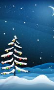 Download free mobile wallpaper 9067: Holidays, Winter, New Year, Fir-trees, Christmas, Xmas, Drawings for phone or tab. Download images, backgrounds and wallpapers for mobile phone for free.
