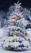 Download free mobile wallpaper 24663: Fir-trees, New Year, Holidays, Christmas, Xmas, Snow for phone or tab. Download images, backgrounds and wallpapers for mobile phone for free.