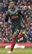 Download free mobile wallpaper 17373: Daniel Andre Sturridge, Football, People, Men, Sports for phone or tab. Download images, backgrounds and wallpapers for mobile phone for free.
