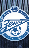 Download free mobile wallpaper 48197: Zenit,Background,Football,Sports for phone or tab. Download images, backgrounds and wallpapers for mobile phone for free.