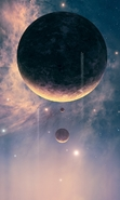 Download free mobile wallpaper 42543: Fantasy,Planets,Pictures for phone or tab. Download images, backgrounds and wallpapers for mobile phone for free.