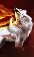 Download free mobile wallpaper 31171: Fantasy,Wolfs,Animals for phone or tab. Download images, backgrounds and wallpapers for mobile phone for free.