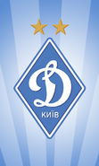 Download free mobile wallpaper 19781: Background, Football, Dinamo, Logos, Sports for phone or tab. Download images, backgrounds and wallpapers for mobile phone for free.