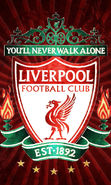 Download free mobile wallpaper 21729: Background, Football, Liverpool, Logos, Sports for phone or tab. Download images, backgrounds and wallpapers for mobile phone for free.
