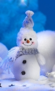 Download free mobile wallpaper 29287: Background,Snowman,New Year,Holidays for phone or tab. Download images, backgrounds and wallpapers for mobile phone for free.